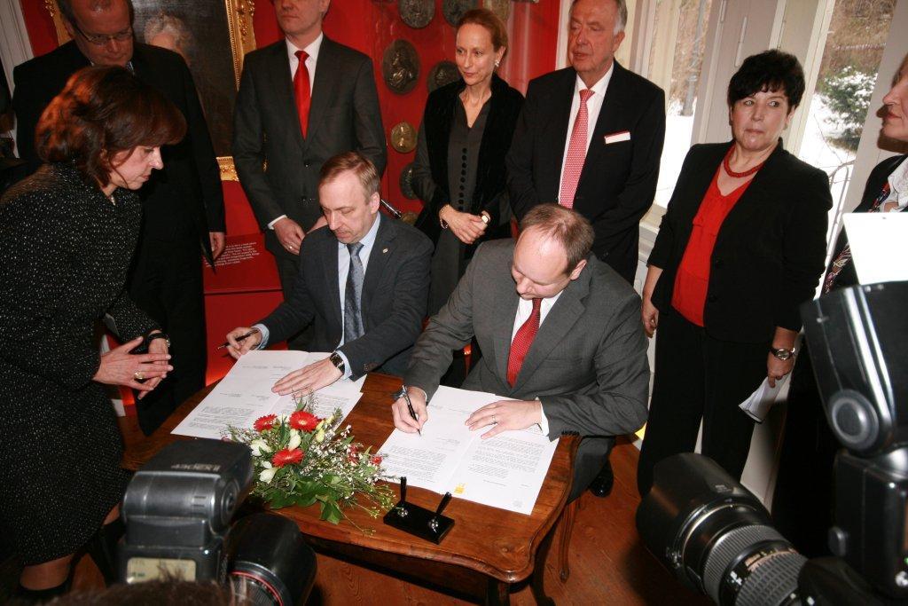 Uroczystość otwarcia nowej ekspozycji w Muzeum Kraszewskiego w Dreźnie (fot. MKiDN)