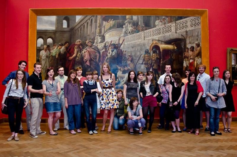 Dzień Wolnej Sztuki w Muzeum Narodowym w Warszawie w 2011 r., fot. Łukasz Niemiec