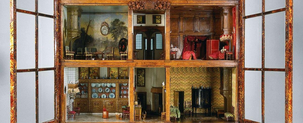 Domki dla lalek z Rijksmuseum w Amsterdamie
