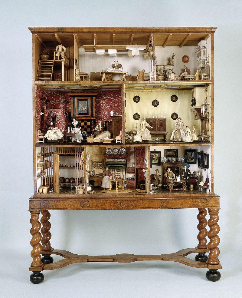 Domek dla lalek Petronelli Dunois, fot. Rijksmuseum