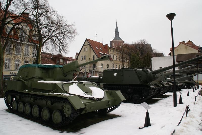 Ekspozycja plenerowa MOP znajduje się w centrum Kołobrzegu (fot. A. Kisiel)