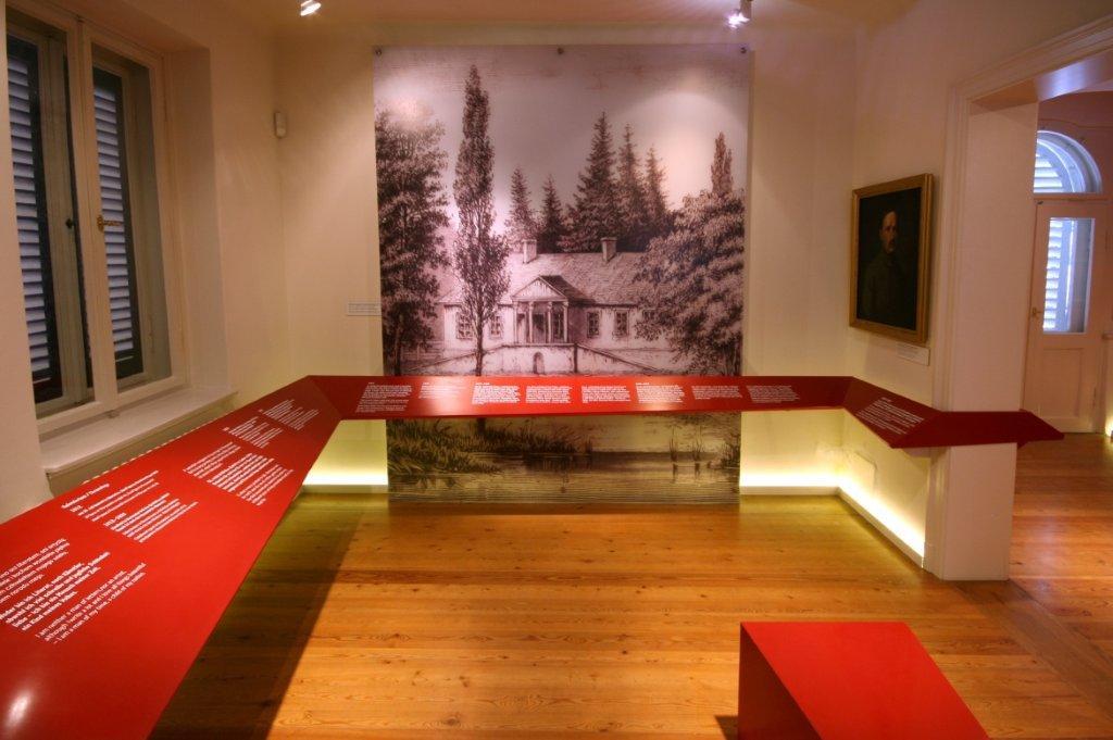Muzeum Kraszewskiego w Dreźnie, widok sali I (fot. A. Orlewicz)
