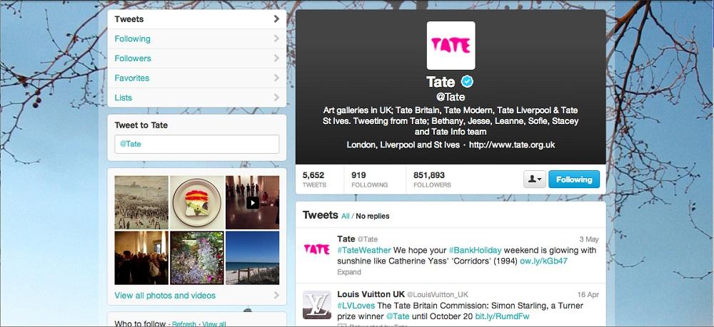 Tate Twitter