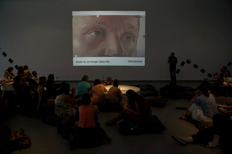 Martijn Pronk z Rijksmuseum, fot. Karle Dru / We Are Museums