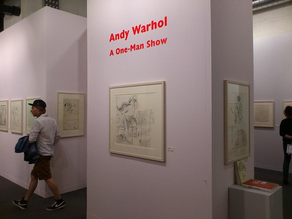 Art Basel 2013: Andy Warhol, fot. P. Głowacki