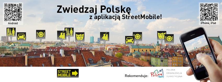 reklama zwiedzaj Polske z POT