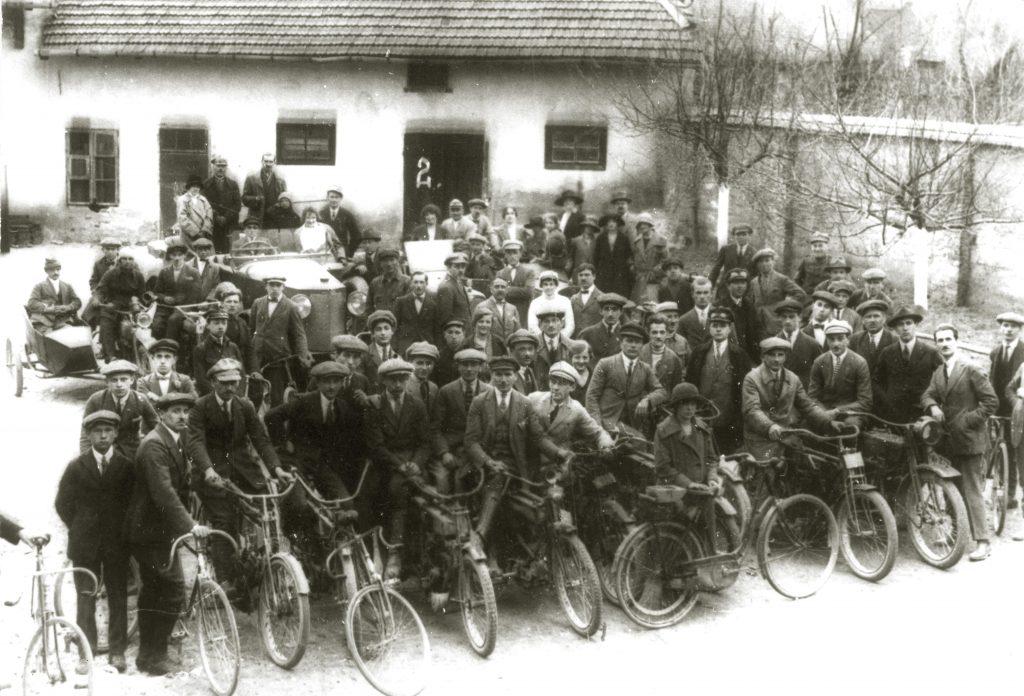 Klub Cyklistów i Motorzystów w Wieliczce, 1924 r