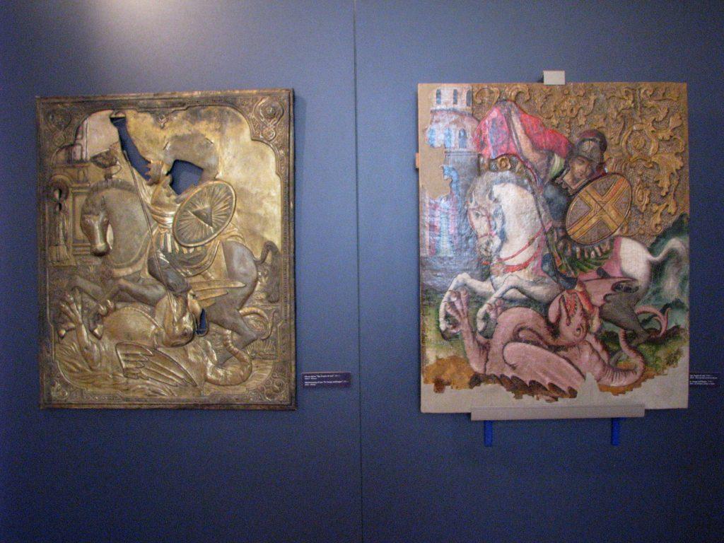 Muzeum sztuki - Ikona i sukienka