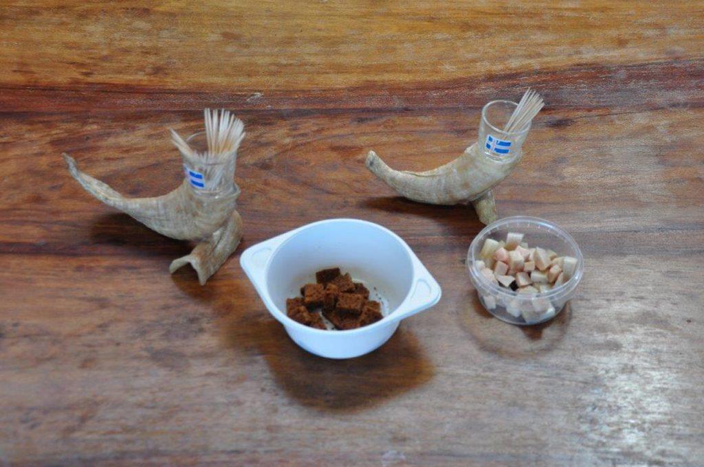 Hákarl gotowy do degustacji (fot. A. Zugaj)
