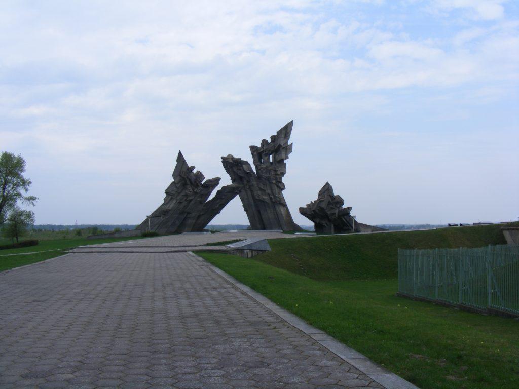 Pomnik ofiar nazizmu, fot. Autor