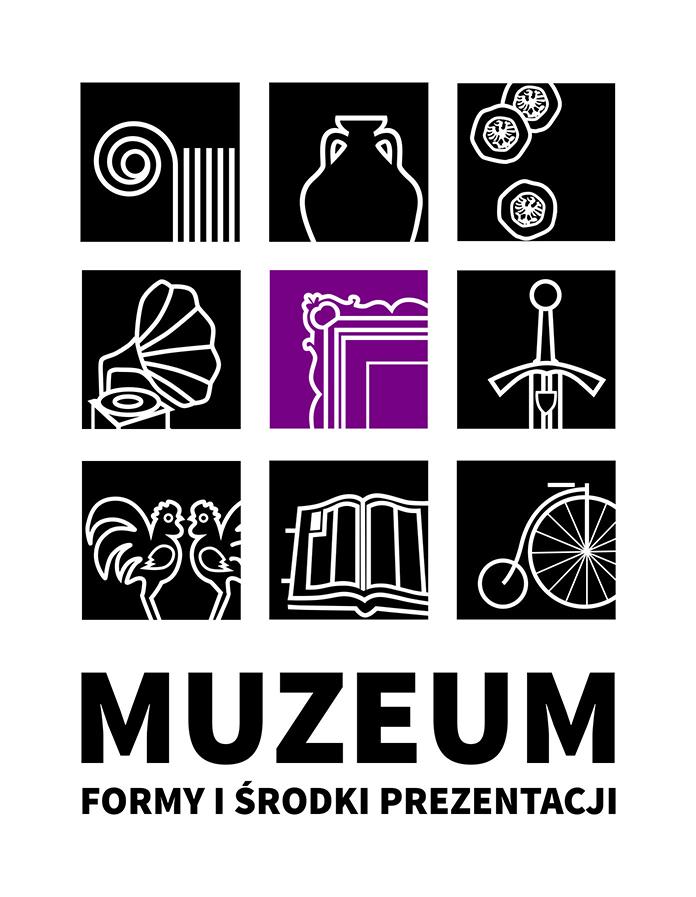 """logotyp konferencji """"Muzeum Formy i Środki Prezentacji"""""""
