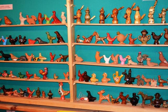 Część ekspozycji w Muzeum Gwizdka (fot. www.muzeum-gwizdka.pl)