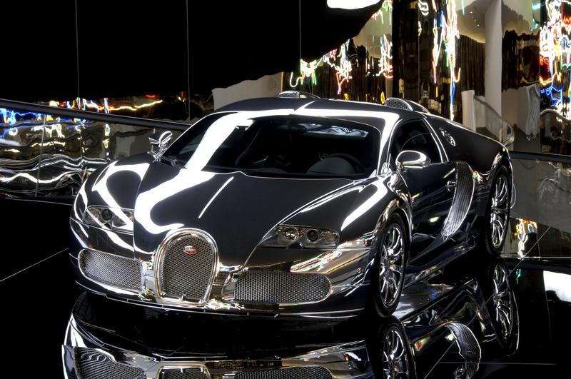 Pawilon Bugatti (fot. Lars Landmann/Autostadt)