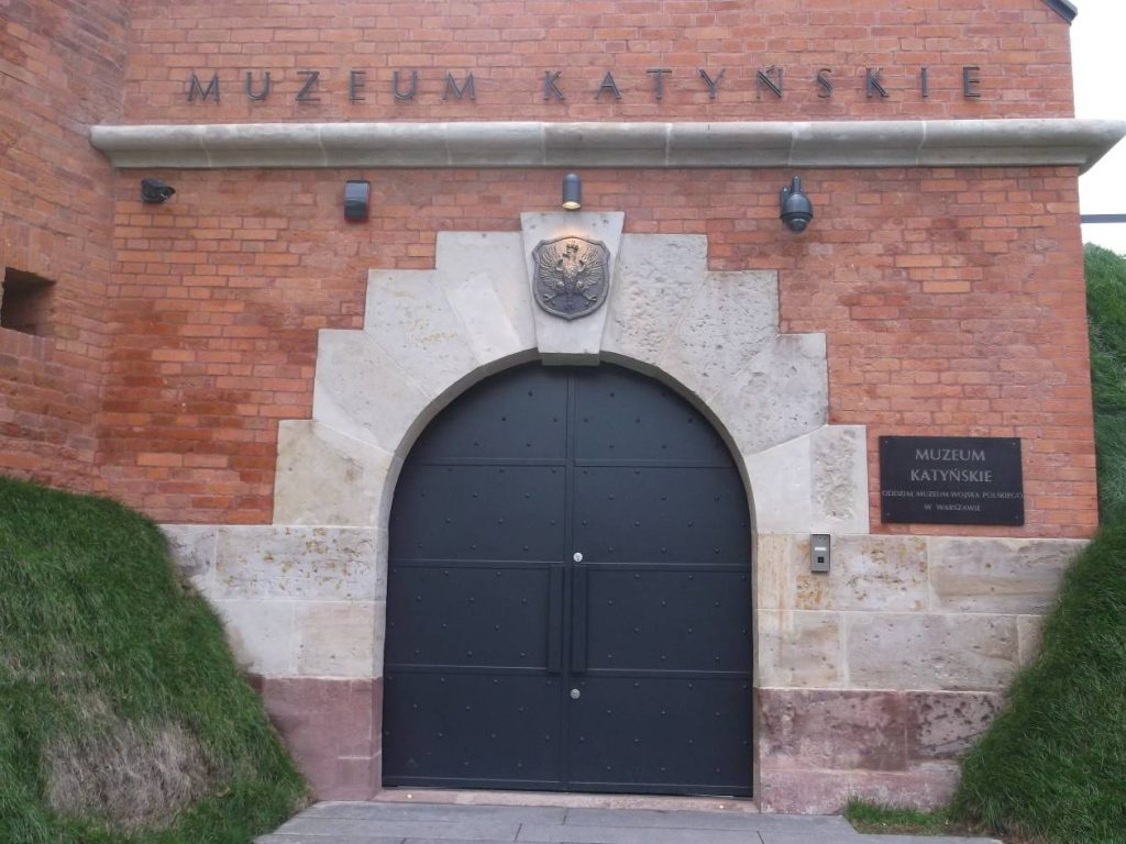 Wejście do kaponiery (fot. M. Kiełbus)