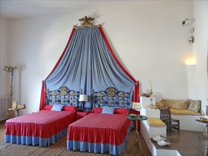 Sypialnia w Casa Museu Dali (fot. Autorka)