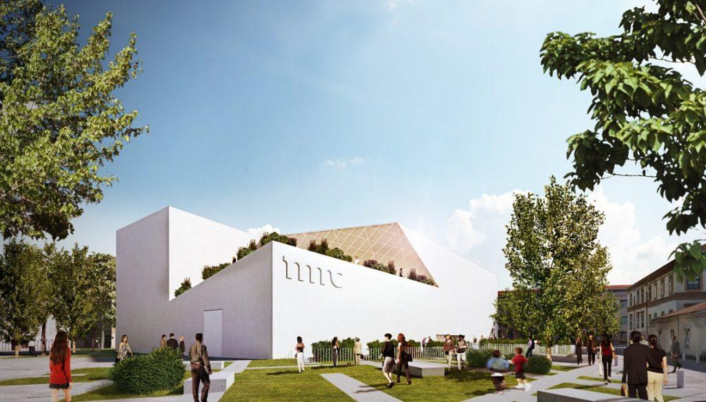 muzeum sztuki nowoczesnej - wizualizacja 1