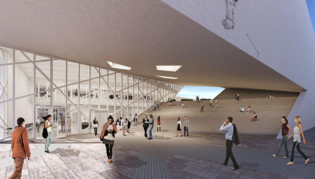 muzeum sztuki nowoczesnej - wizualizacja 3
