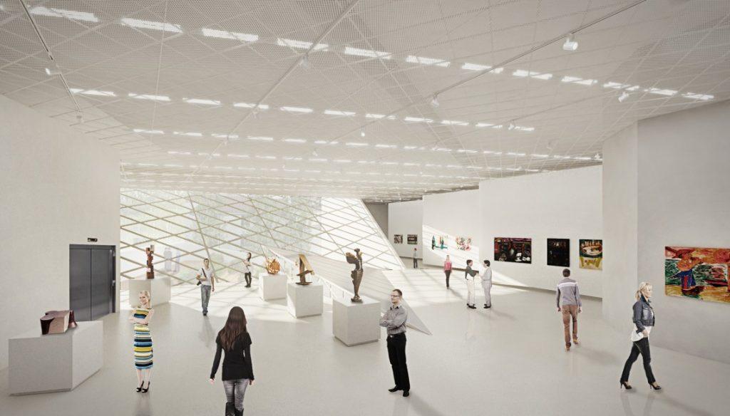 muzeum sztuki nowoczesnej - wizualizacja 4