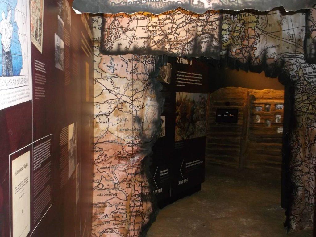 Wizualizacja zniszczeń wojennych [fot. M. Kiełbus]