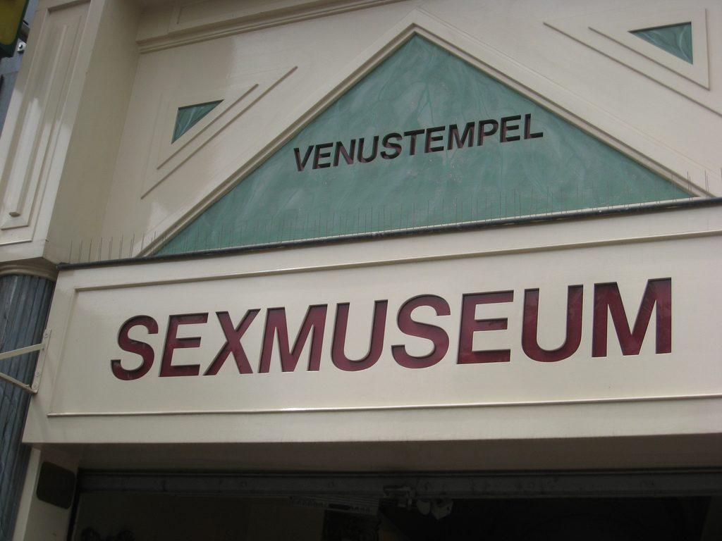 Amsterdamskie Muzeum Seksu (fot. Autorka)