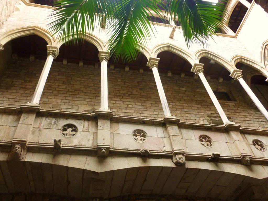 Dziedziniec Muzeum Picassa w Barcelonie (fot. Autorka)