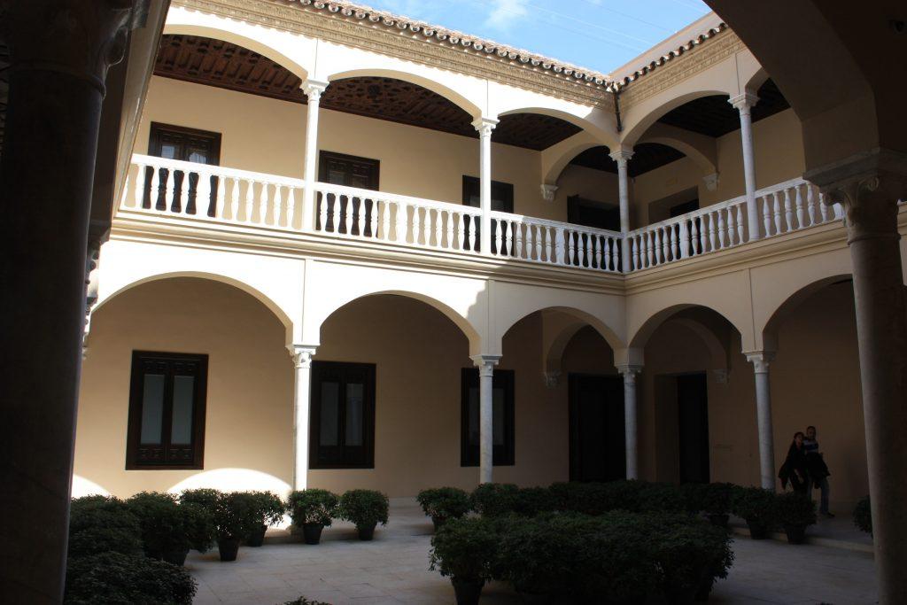 Dziedziniec Muzeum Picassa w Maladze (fot. Autorka)