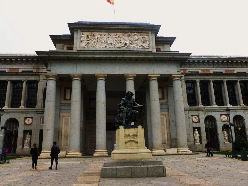 Prado - pomnik Velazqueza (fot. Autorka)