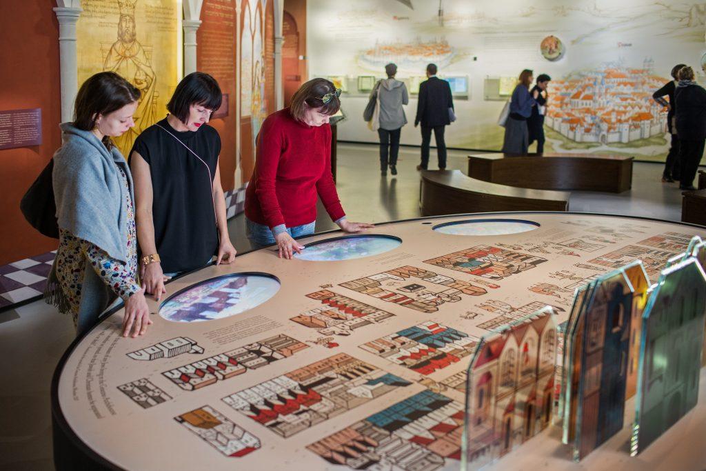 Muzeum Historii Żydów Polskich POLIN, wystawa stała, fot. Magda Starowieyska (Muzeum POLIN)