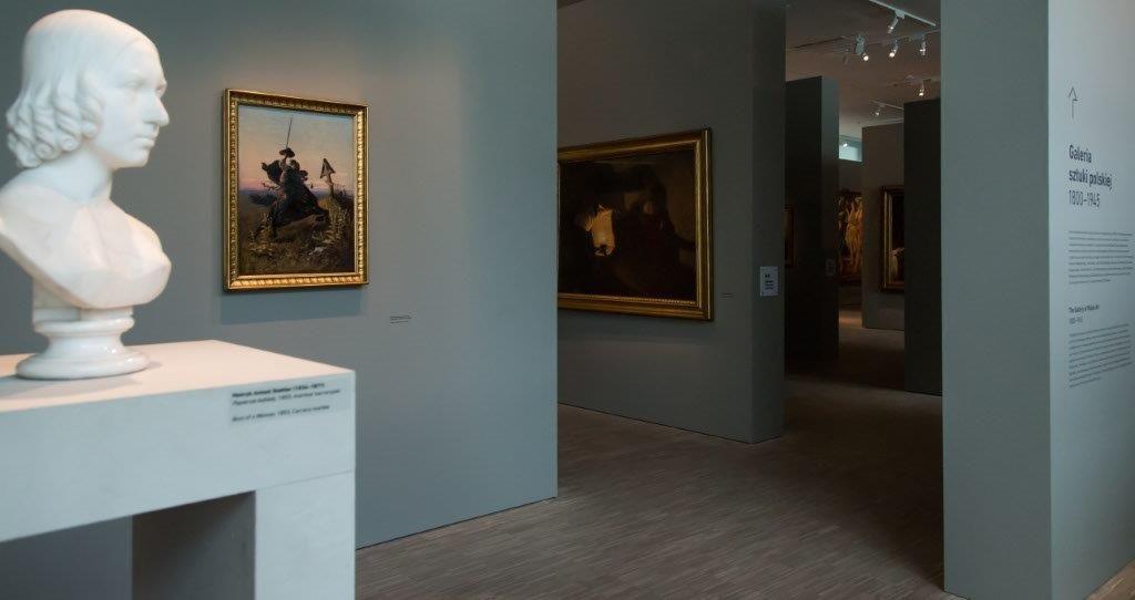 Galeria Sztuki Polskiej 1800-1945, fot. W. Szołtys