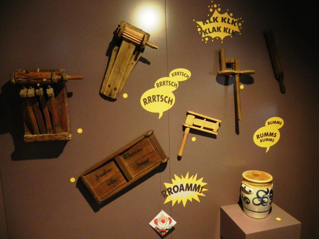 Instrumenty wraz z odgłosami, które wydają