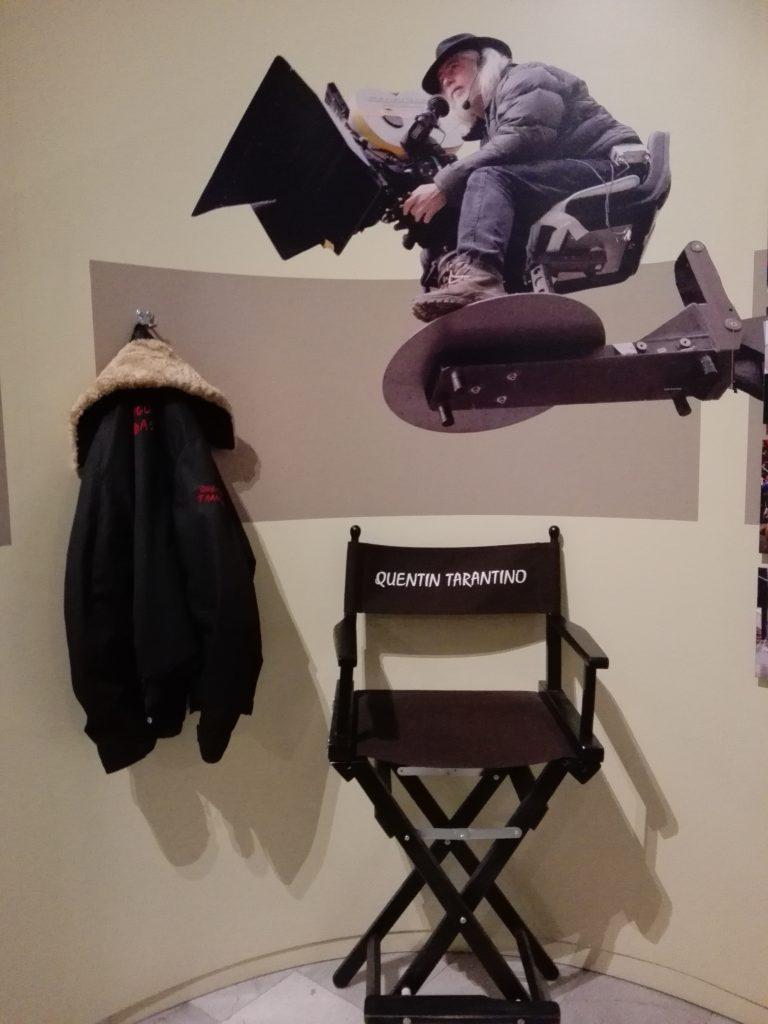Pamiątki związane z Quentinem Tarantino (fot. A. Pudełko)