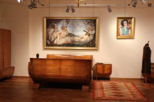 Sypialnia z okresu Art déco