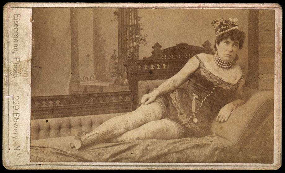 Nora Hildebrandt Carte De Visite z 1942 r. kopia starszej wersji oryginał pochodzi z końca XIX w.