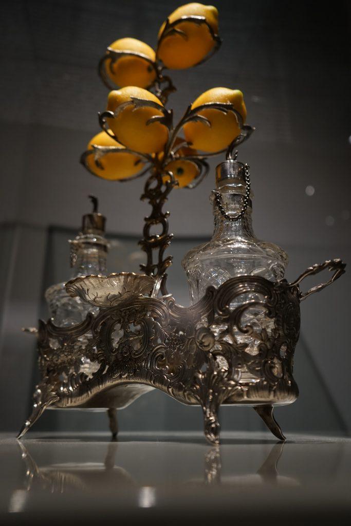Serwis przyprawowy ze srebra, fot. P. Chwalba