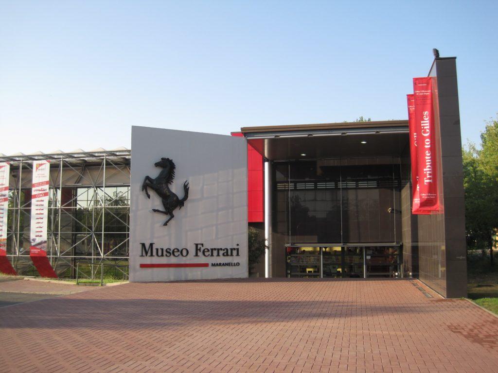Muzeum Ferrari - wejście