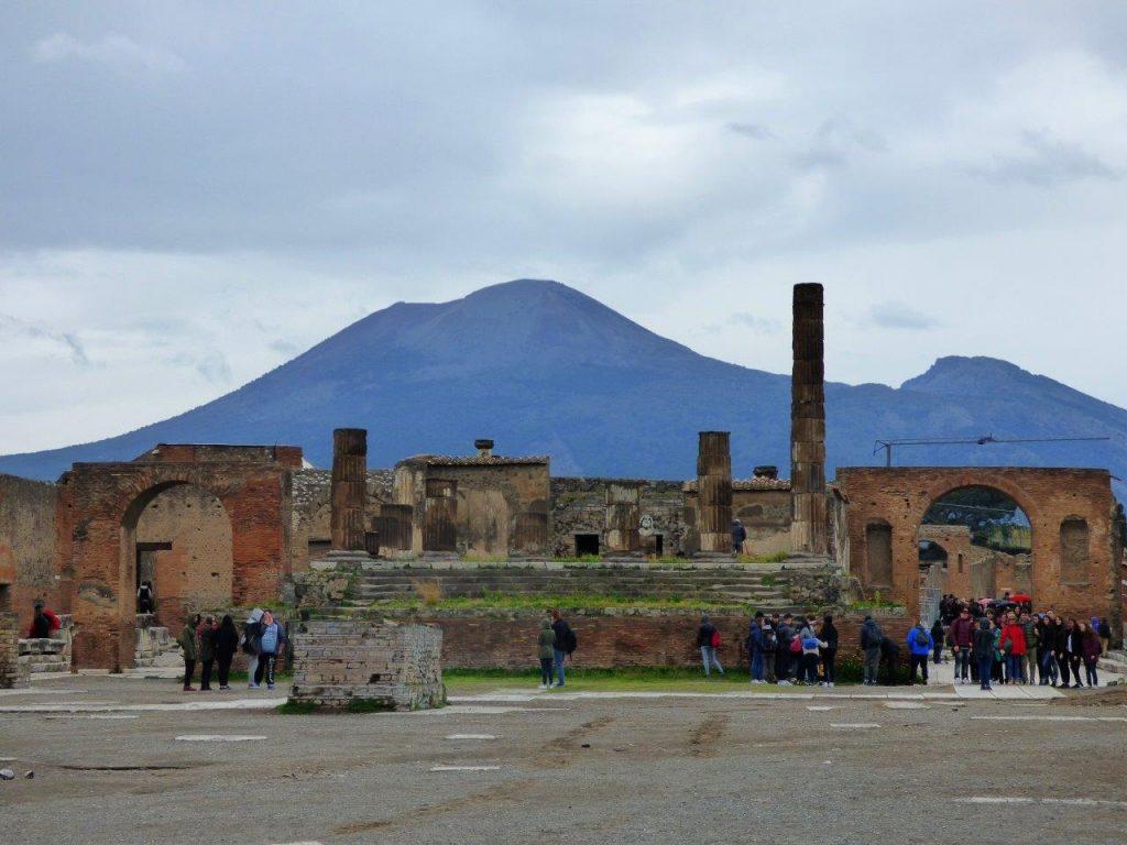 Pompeje - Świątynia Jowisza