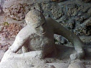 Pompeje - ofiara wybuchu Wezuwiusza