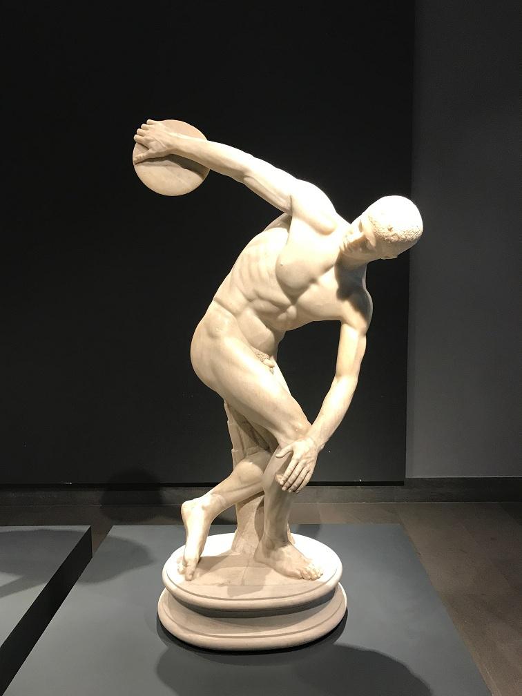 Dyskobol, marmur Muzeum Narodowe w Rzymie