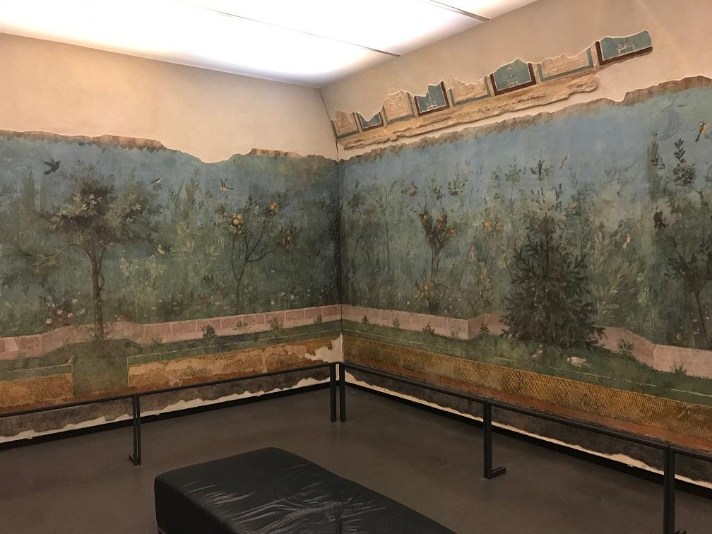 Muzeum Narodowe w Rzymie - Palazzo Massimo alle Terme (zrekonstruowane freski)