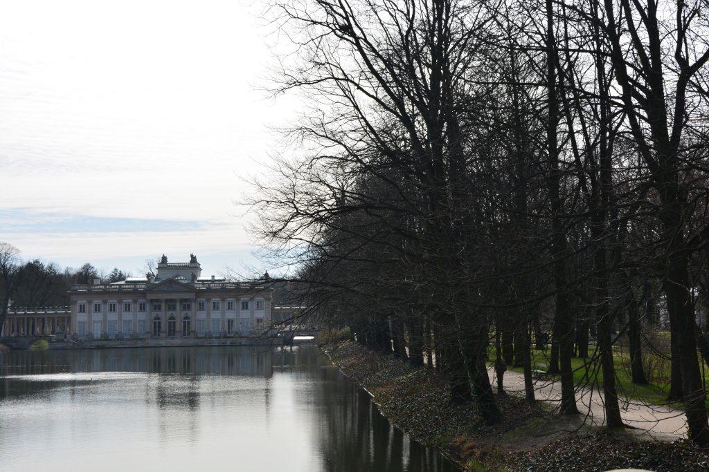 Pałac na Wyspie od strony Agrykoli