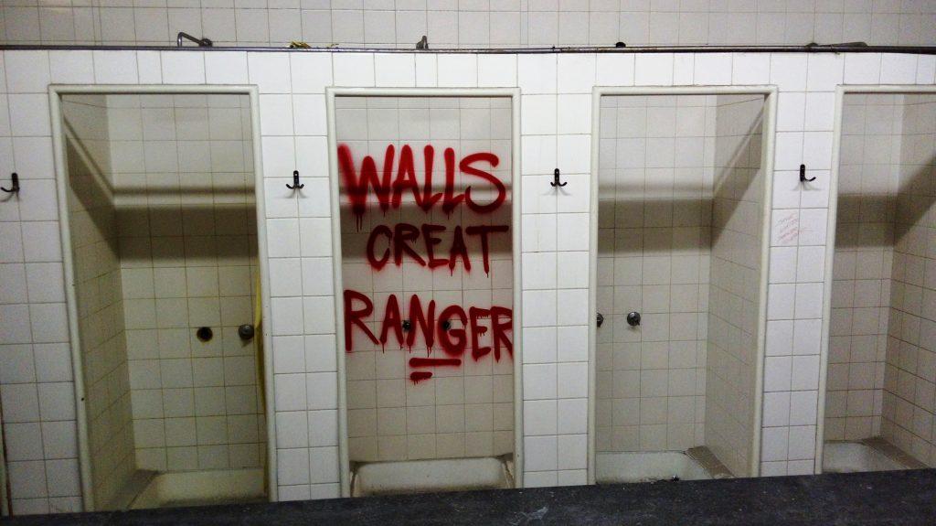 MUCA Urban art w dawnych łazienkach. Fot. W. Pokojska