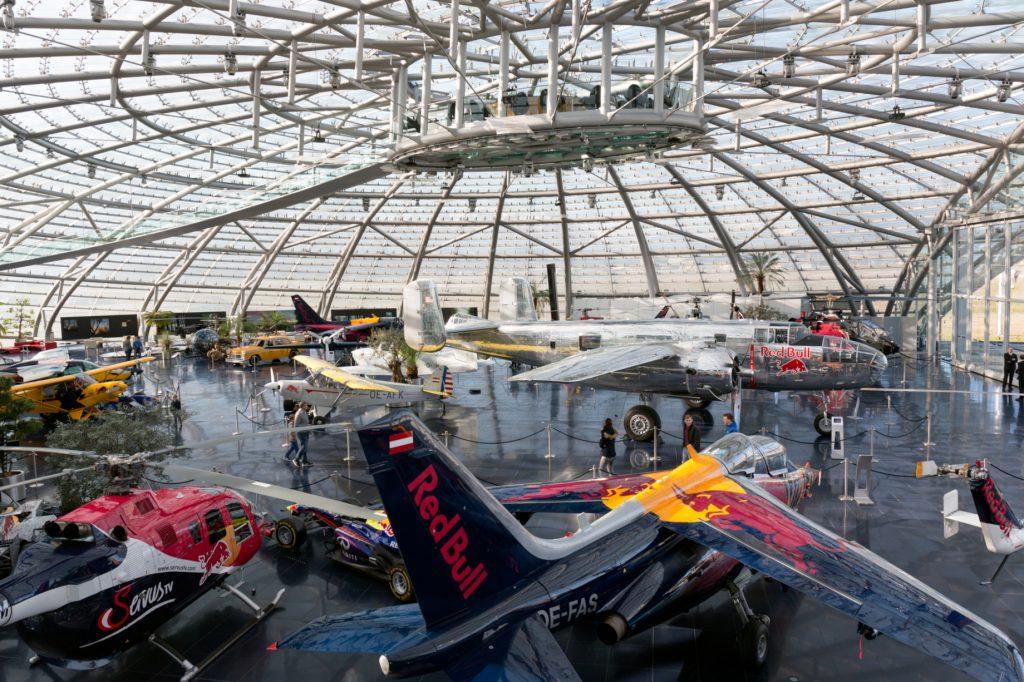 Hangar 7 w Salzburgu - fragment ekspozycji