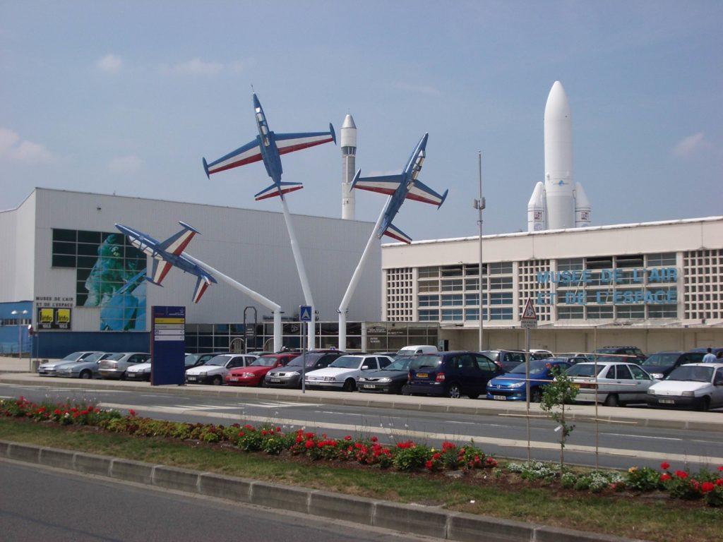 Musée de l'Air et de l'Espace - fragment ekspozycji